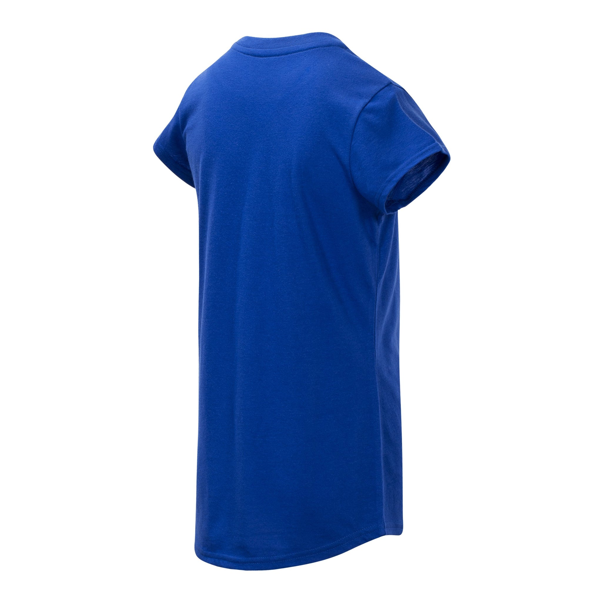Girls' UV Blue Short Sleeve Graphic Tee