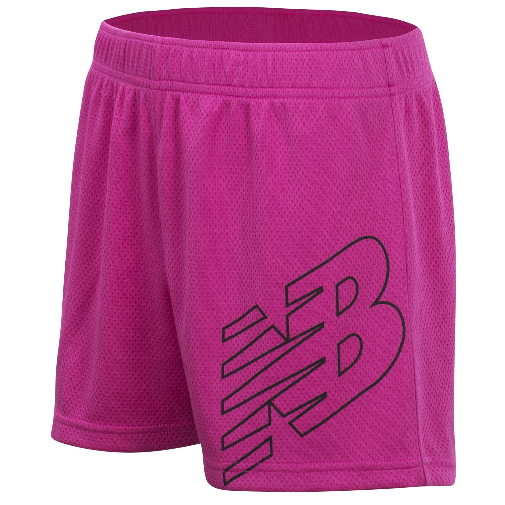 Girls' Carnival Pink Core Shorts-Gerber Childrenswear