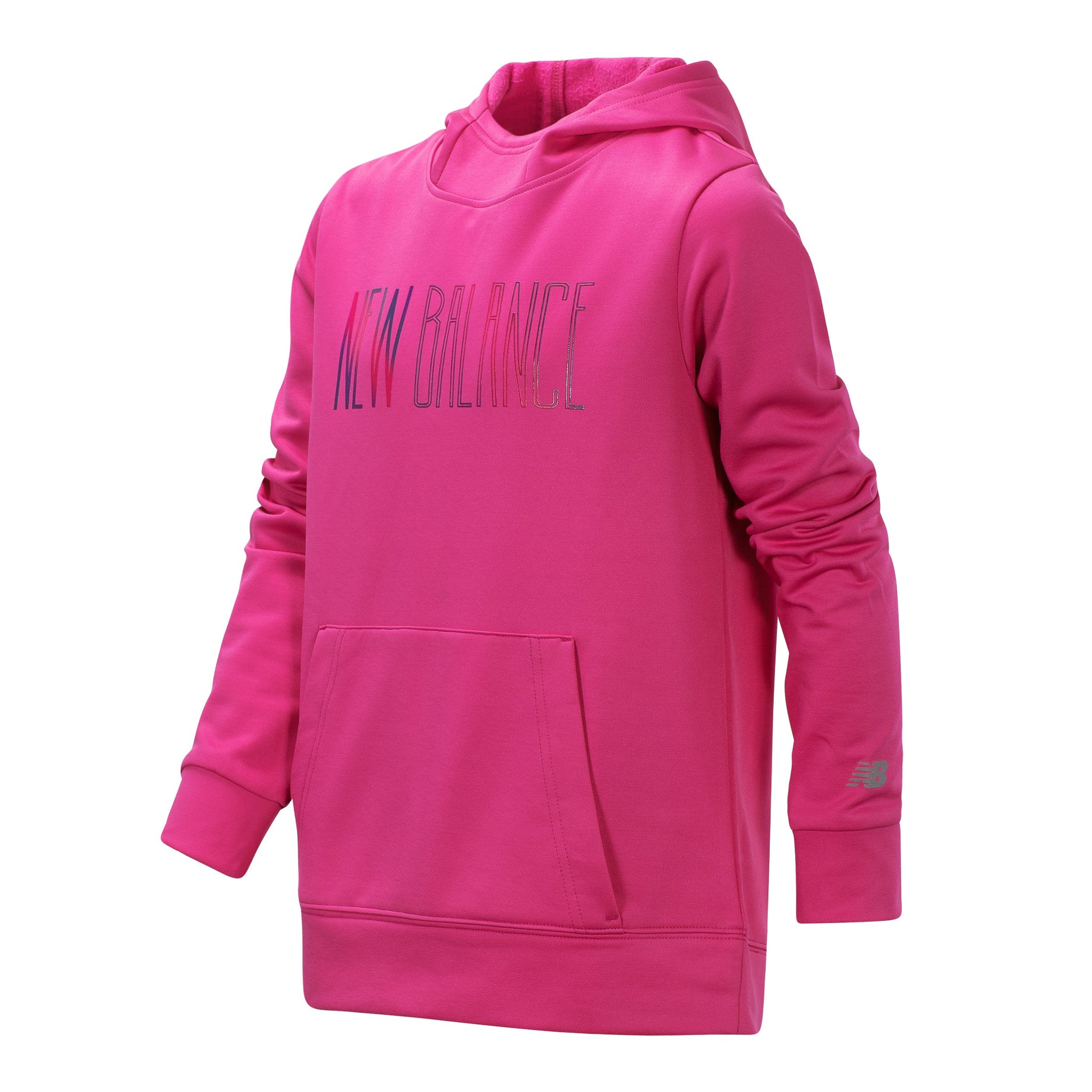 Girls' New Balance Graphic Carnival Pink Graphic Hoodie