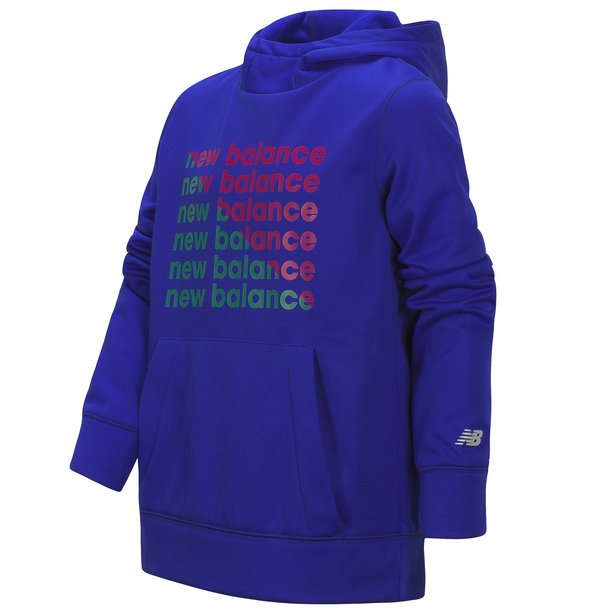 Girls' New Balance Graphic UV Blue Graphic Hoodie
