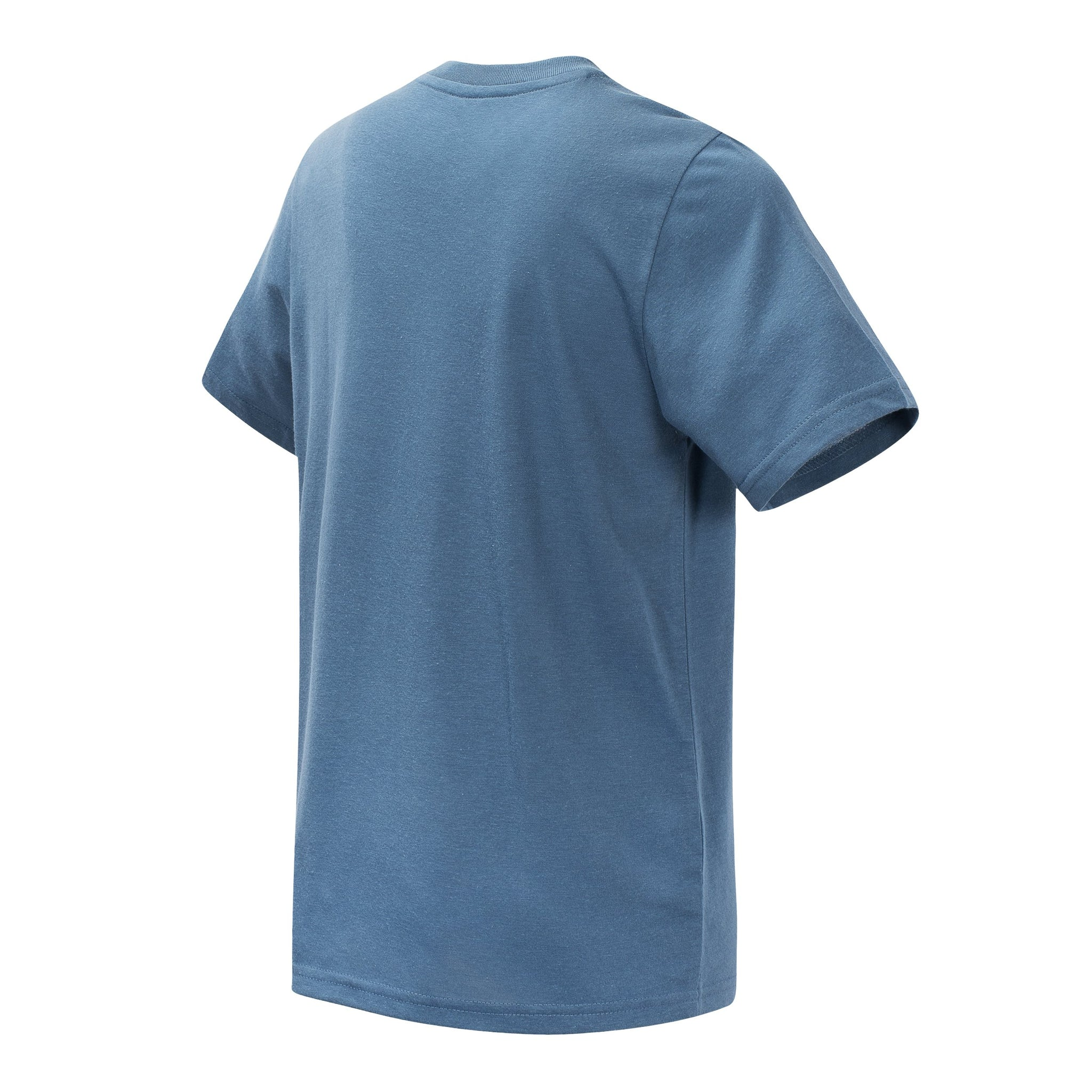 Boys' Chambray Short Sleeve Graphic Tee