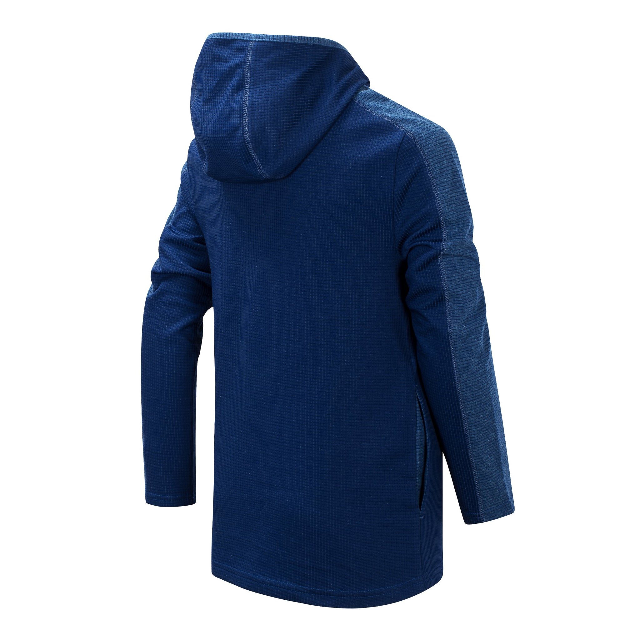 Boys' Techtonic and Lynx Blue Hooded Pullover-Gerber Childrenswear