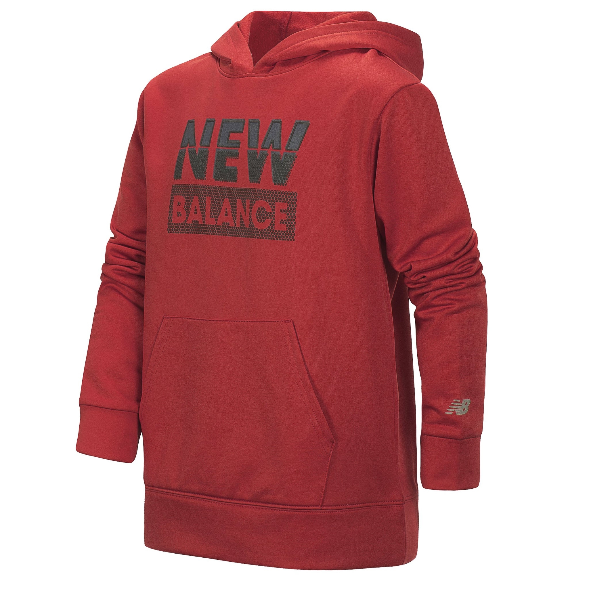 Boys' New Balance Tempo Red Graphic Hoodie