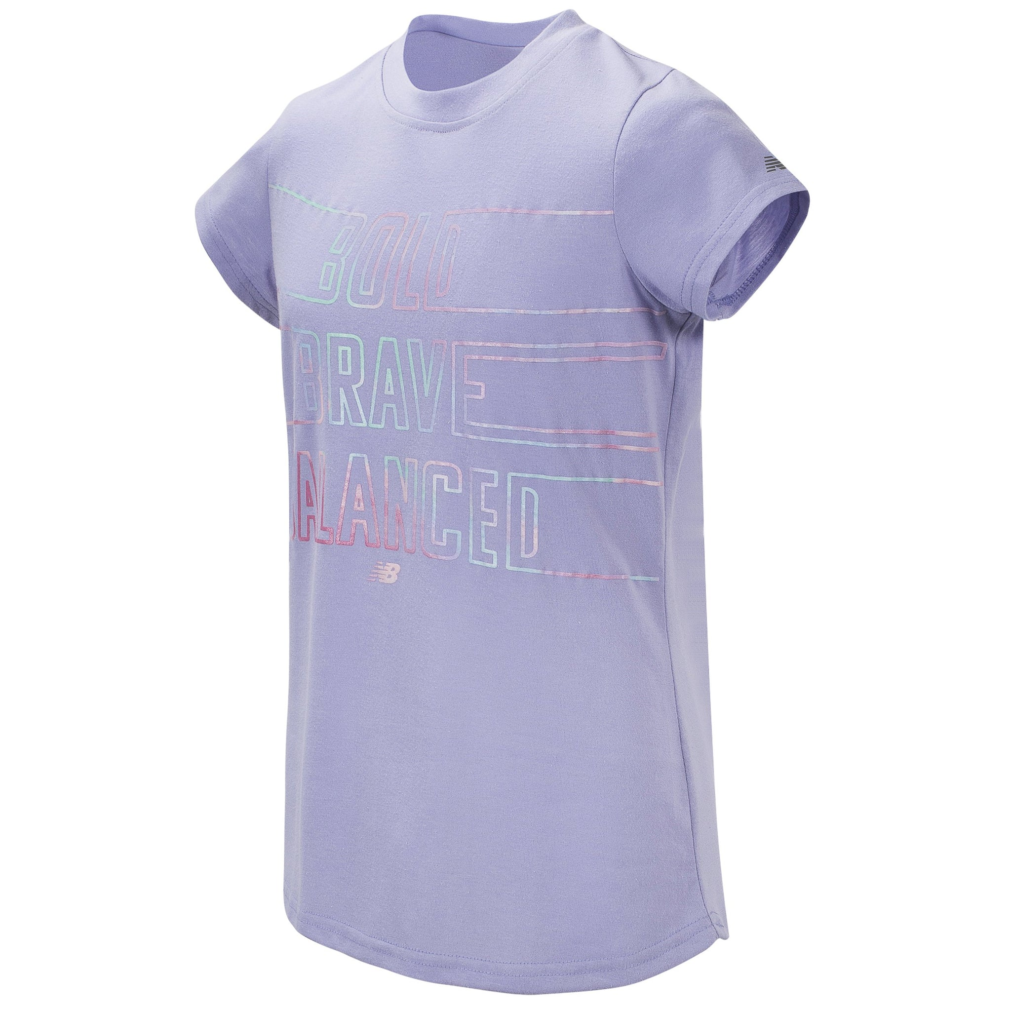 Girls' Clear Amethyst Short Sleeve Graphic Tee-Gerber Childrenswear