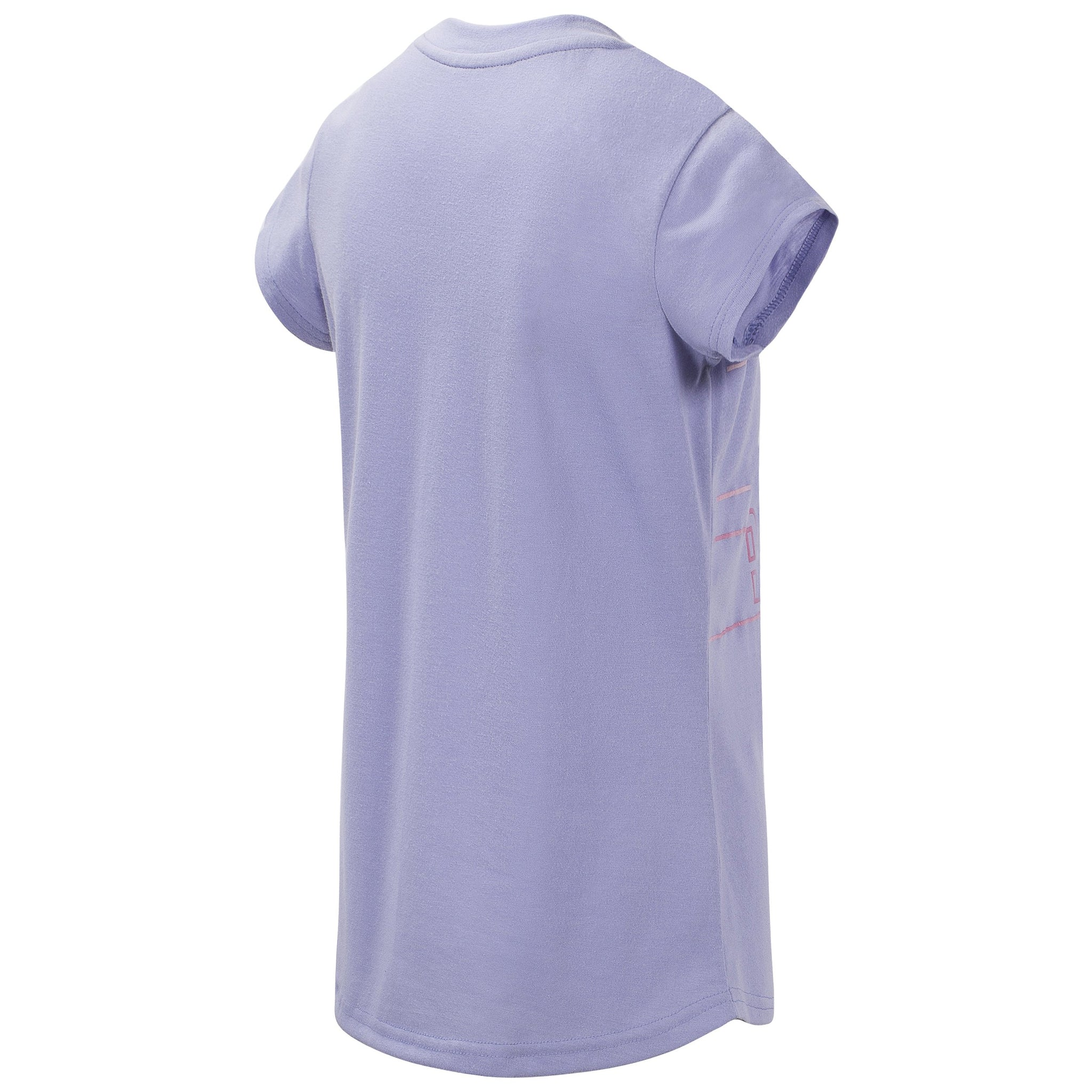 Girls' Clear Amethyst Short Sleeve Graphic Tee