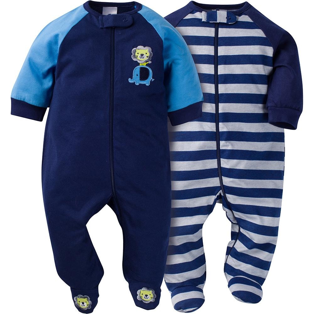 2-Pack Boys Jungle Sleep N' Play-Gerber Childrenswear
