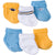 6-Pack Boys Sports Themed Socks-Gerber Childrenswear