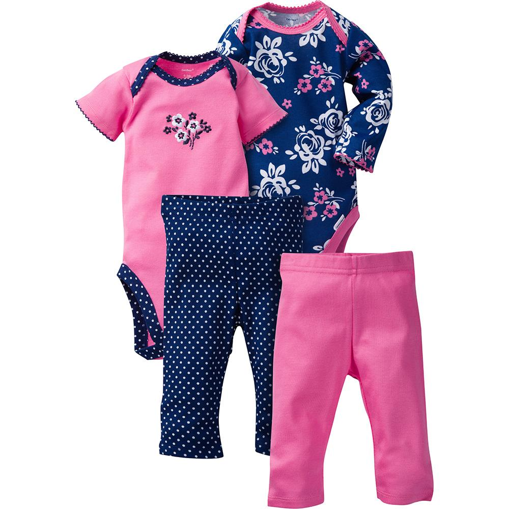 e3780b592 Baby Girl Outfits - Cute Clothing Sets Sale | Gerber Childrenswear
