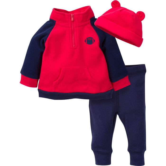 Pant and Cap Set Gerber Baby Boys 3-Piece Top