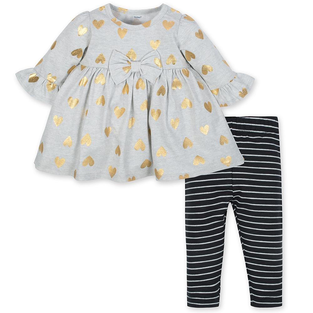 98956893fa40 Toddler Girl Outfits - Cute Playwear Sets | Gerber Childrenswear
