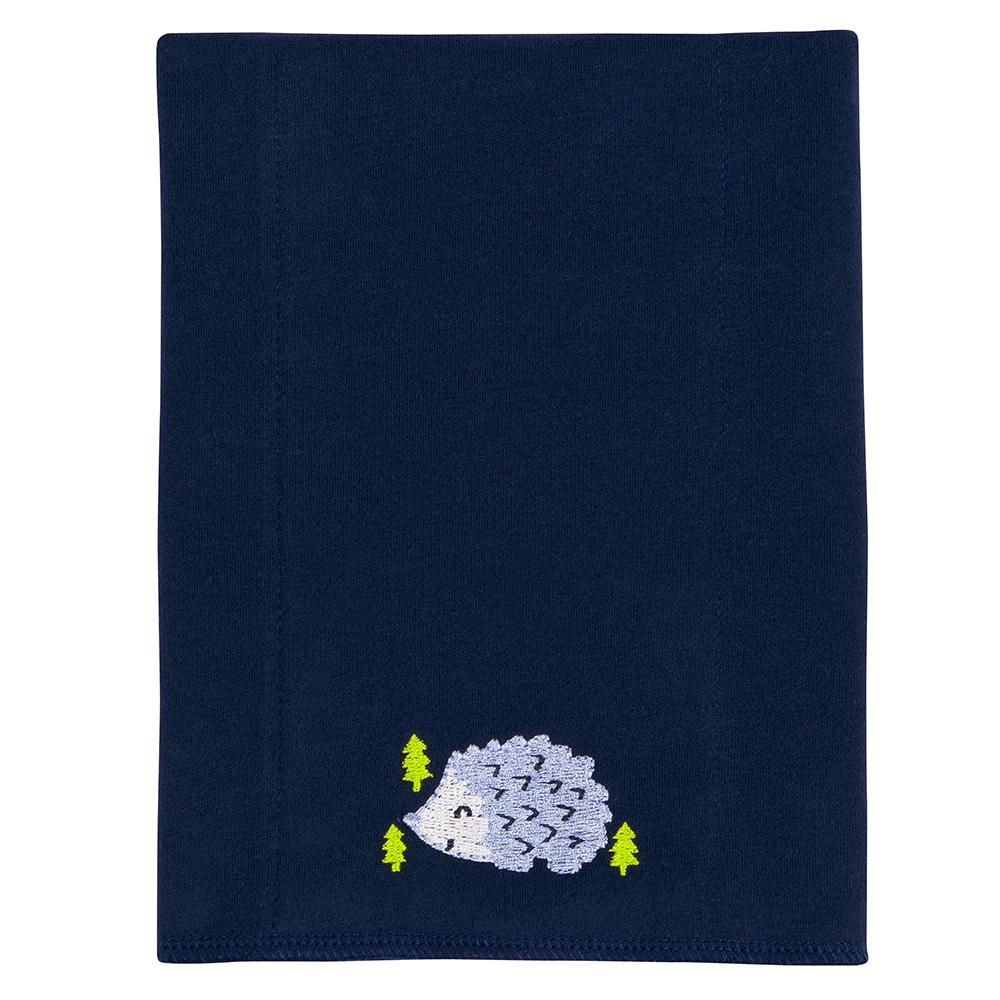 3-Pack Boys Hedgehog Knit Burpcloth