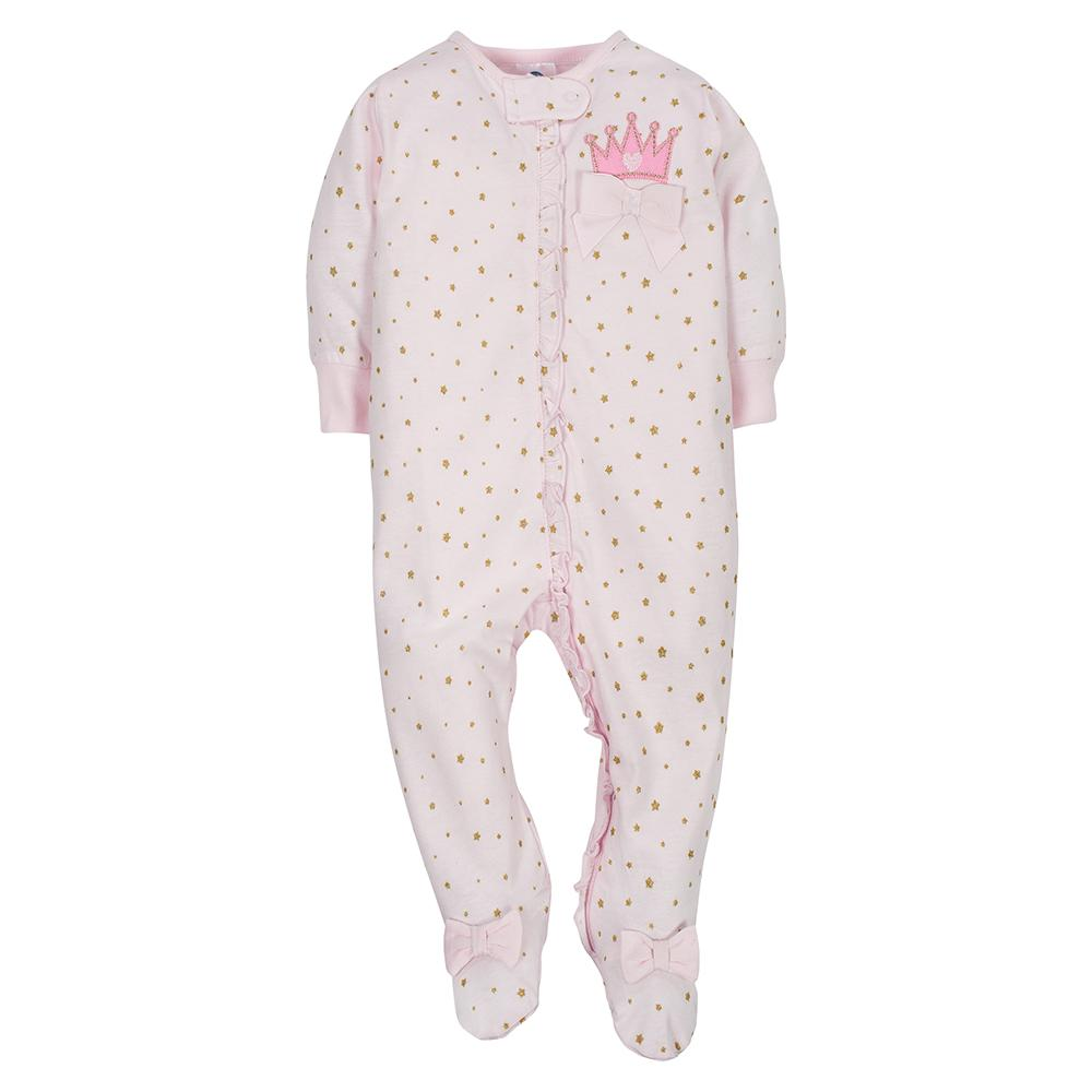2-Pack Girls Princess Sleep N' Play-Gerber Childrenswear