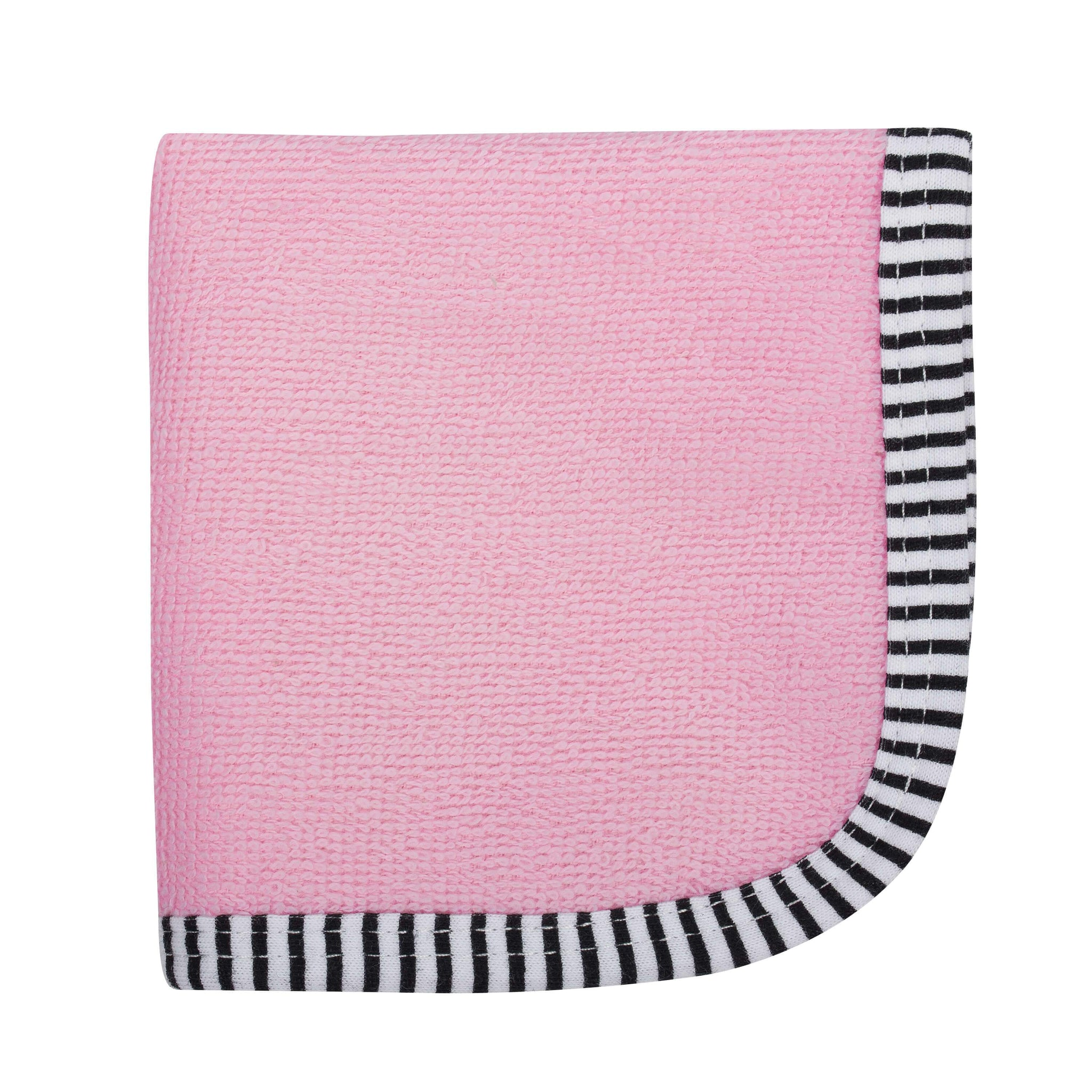 6-Pack Girls Pink Woven Washcloths-Gerber Childrenswear