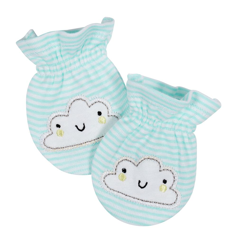 2-Pack Neutral Clouds Mittens-Gerber Childrenswear