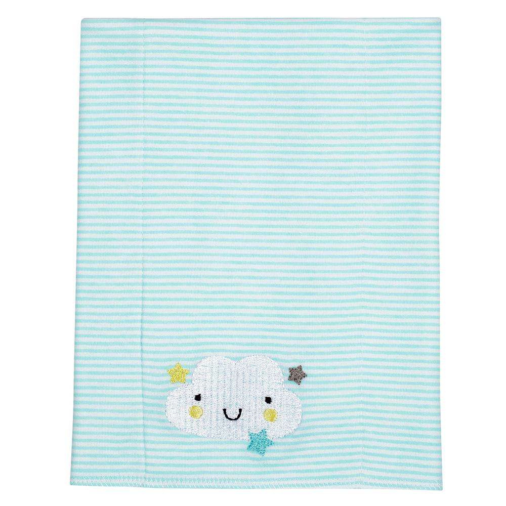 3-Pack Neutral Clouds Knit Burpcloths