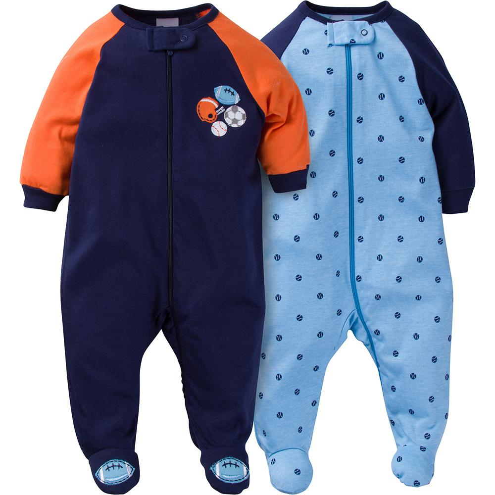 2-Pack Boys Sports Sleep N' Plays-Gerber Childrenswear