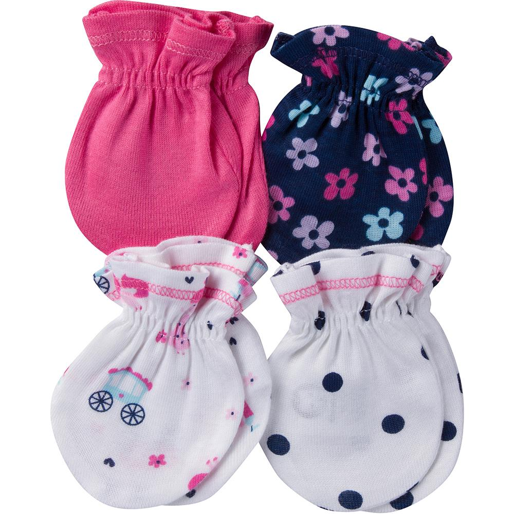 4-Pack Girls Princess Themed Mittens-Gerber Childrenswear