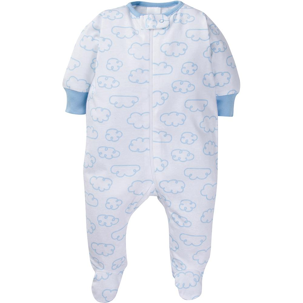 4-Pack Onesies® Brand Baby Boy or Girl Clouds Sleep N' Play