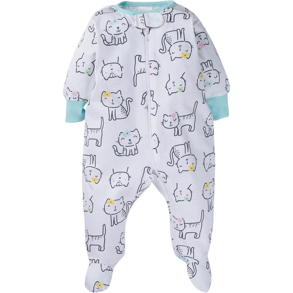 4-Pack Onesies® Brand Baby Girl Sleep N' Play
