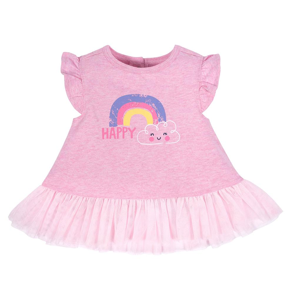 2-piece Girls Rainbow Tunic & Legging Set