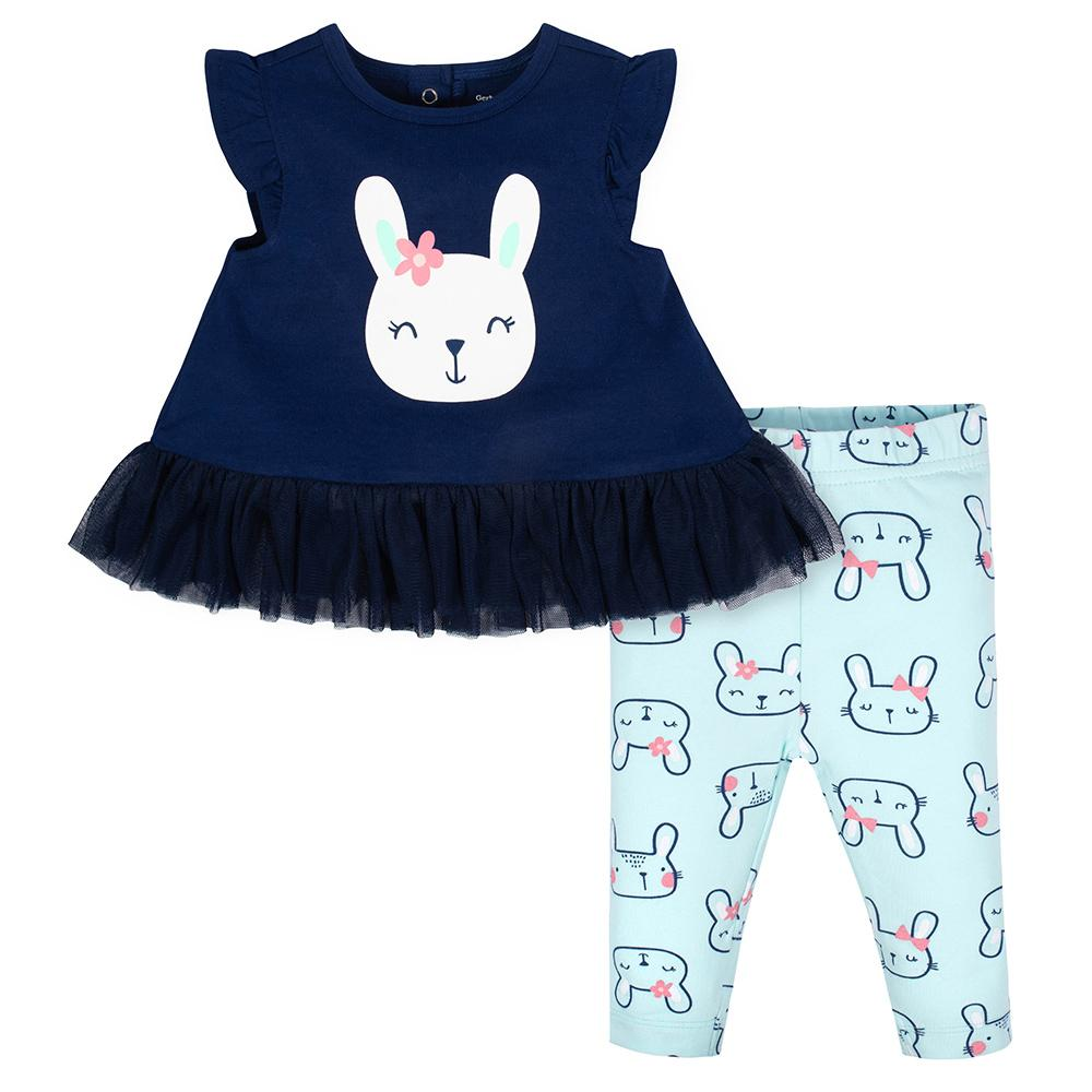 2-piece Girls Bunny Tunic & Legging Set