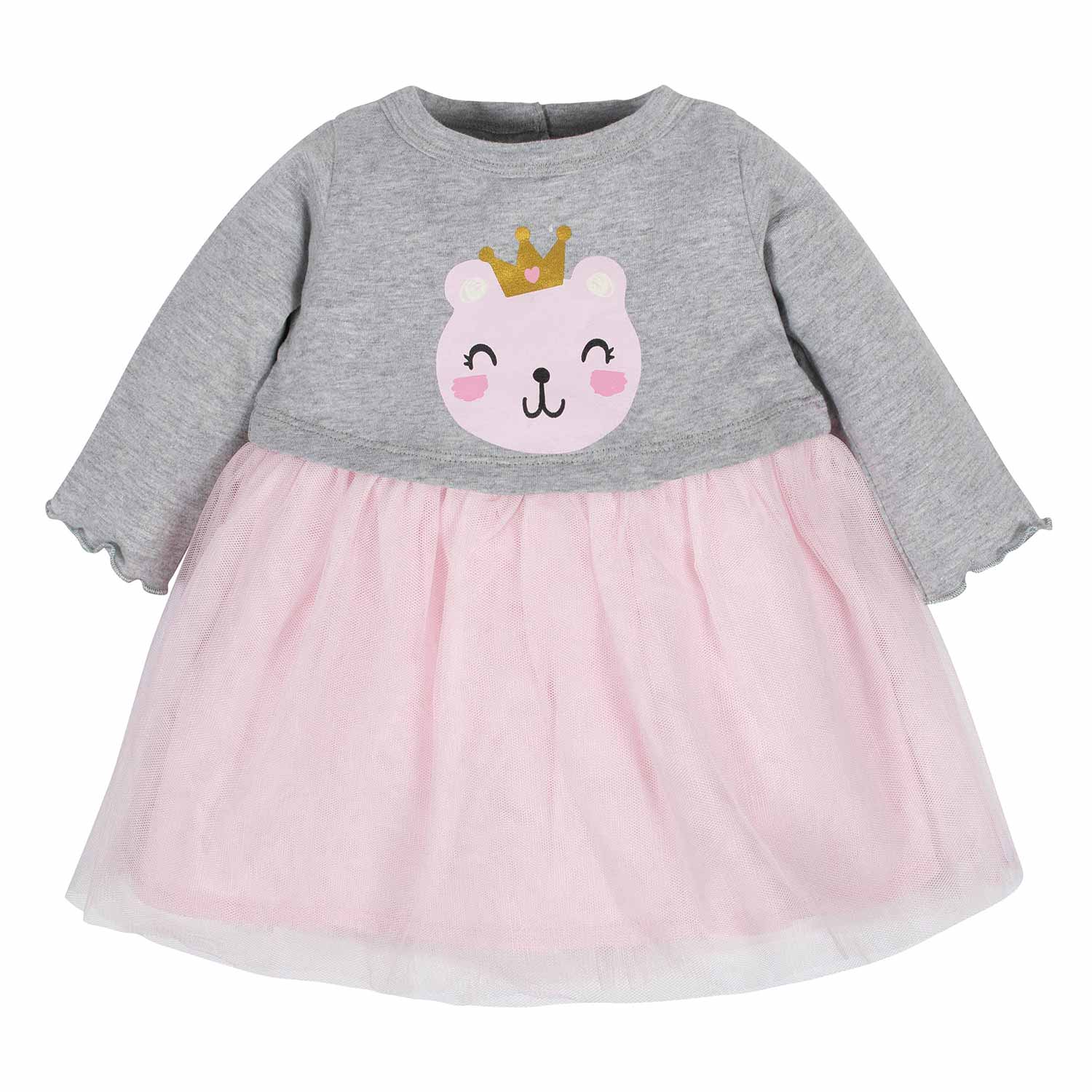 Baby Girls Princess Bear Tulle Dress