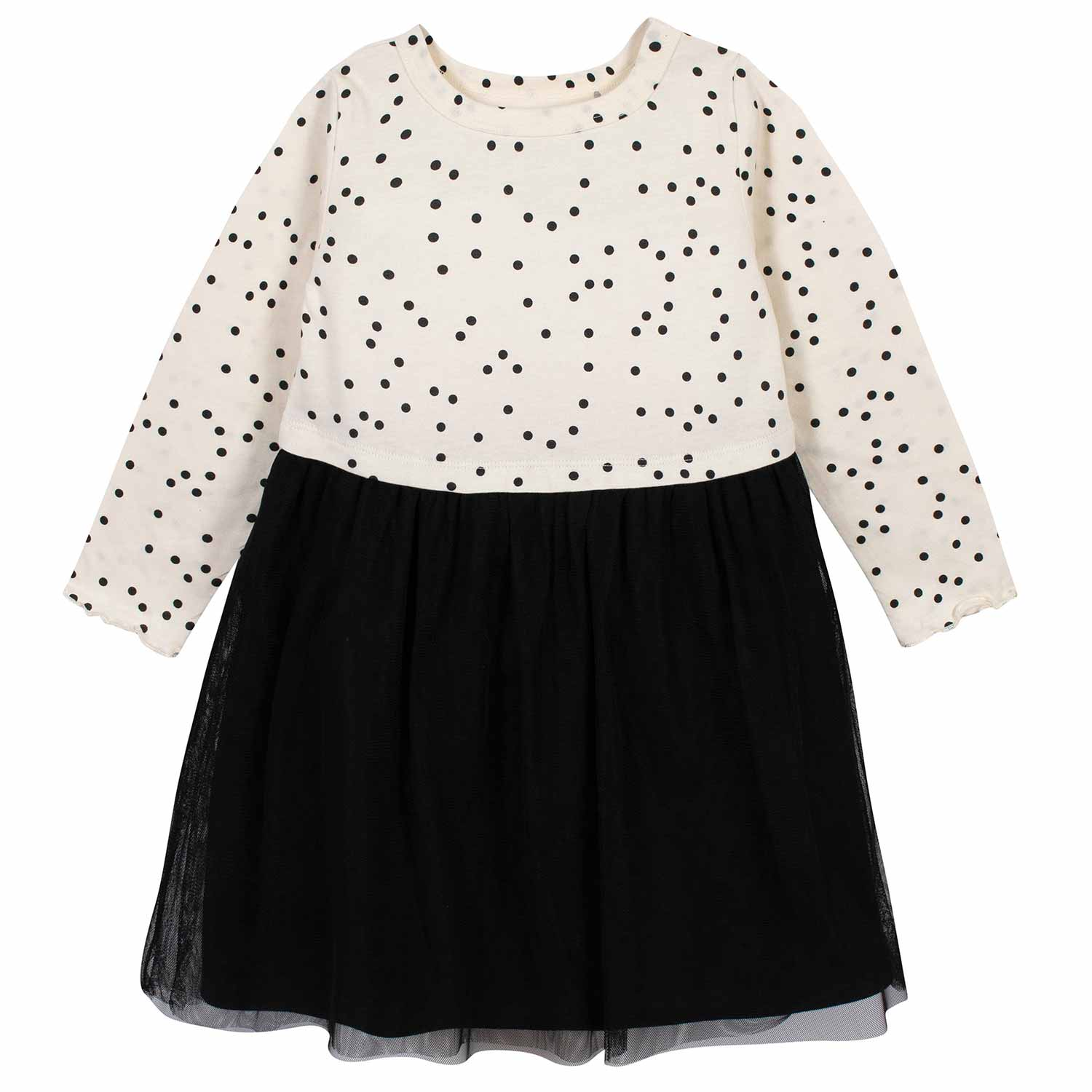 Toddler Girls Dotted Tulle Dress