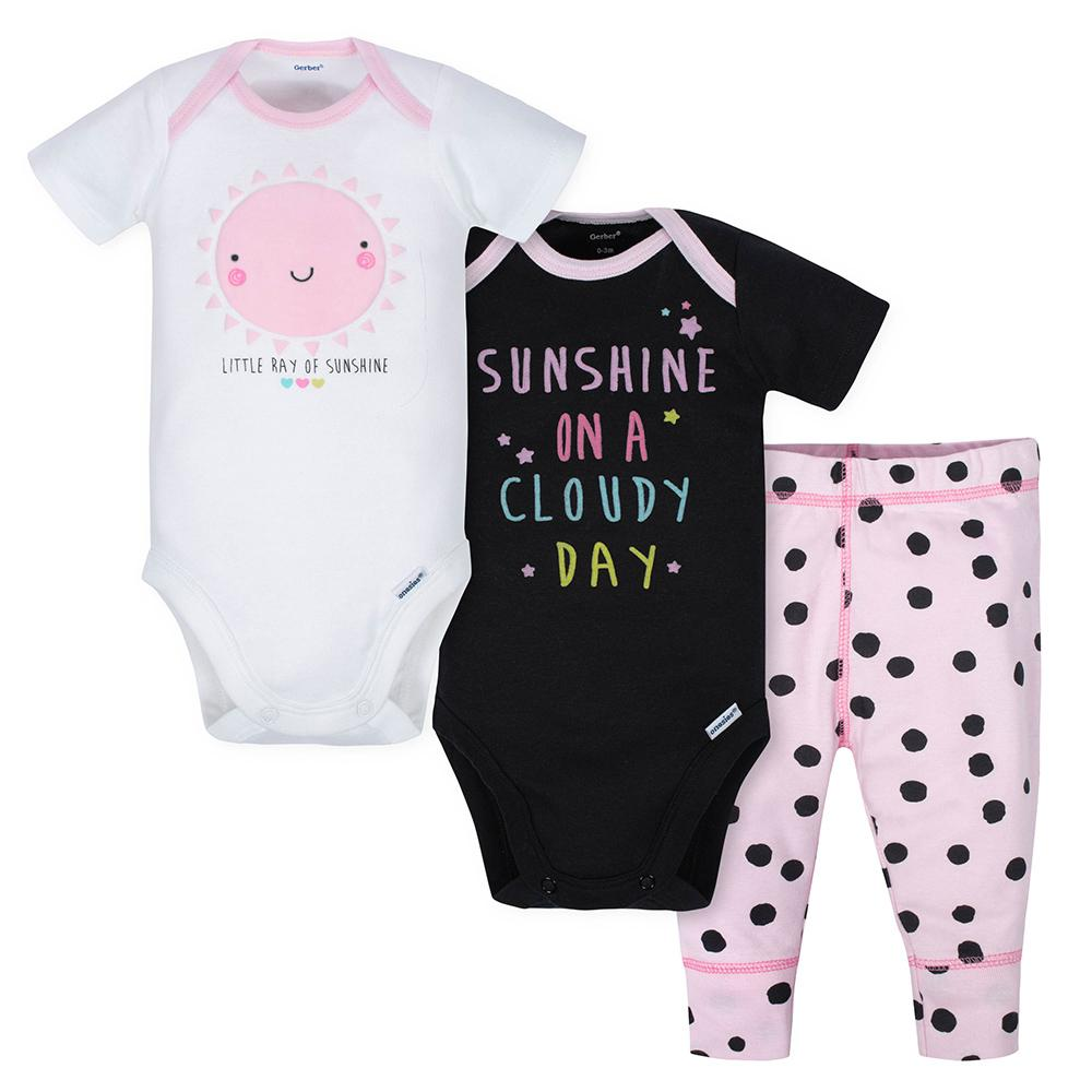 396b0c5befe78 Baby Girl Outfits - Cute Clothing Sets Sale | Gerber Childrenswear