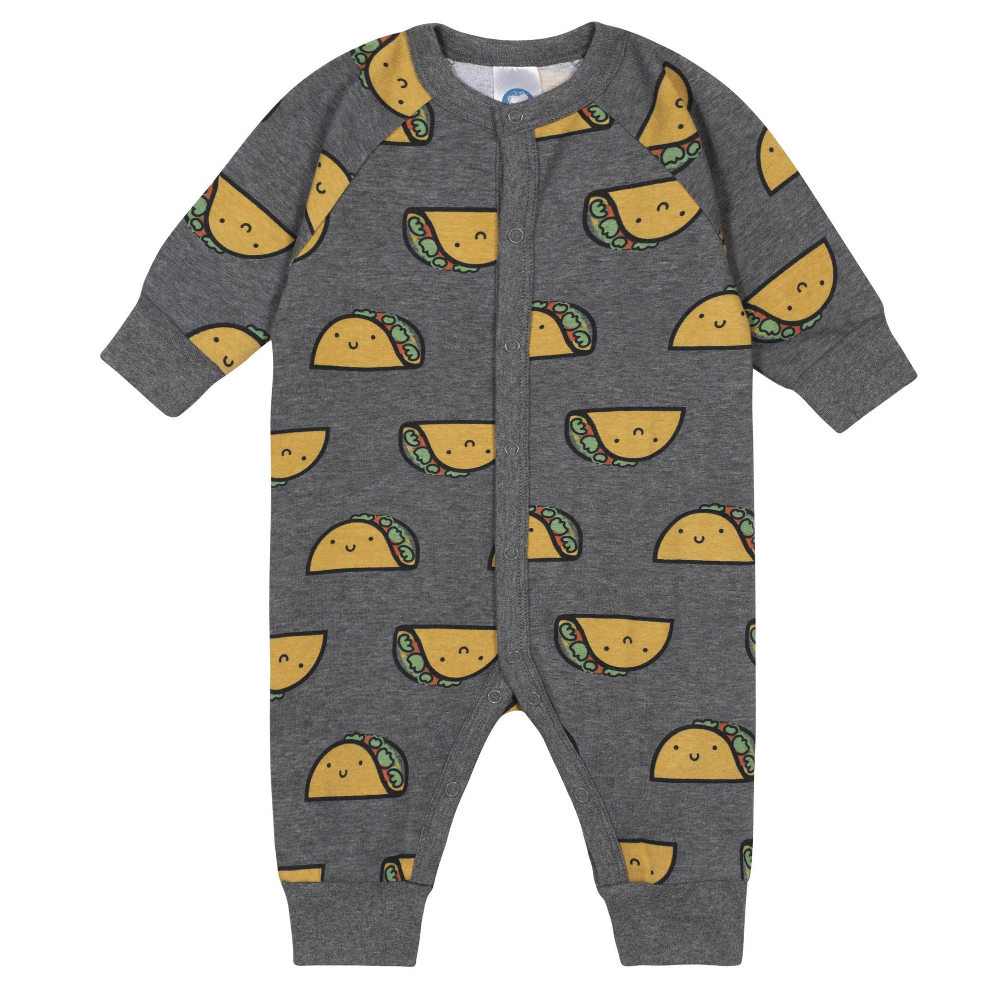 Gerber® 2-Piece Baby Taco Coverall and Cap Set - Limited Edition-Gerber Childrenswear
