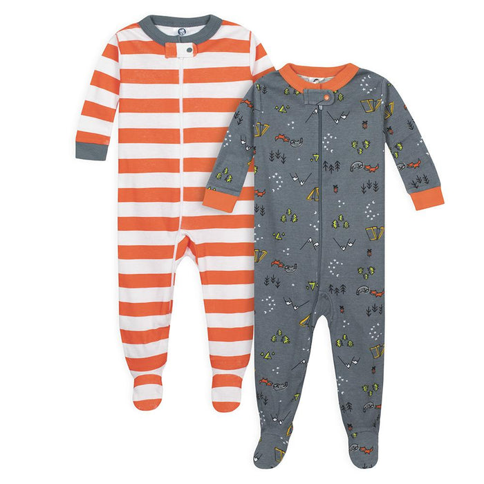 86782023ffa8 2-Pack Baby Boys Camper Snug Fit Footed Pajamas – Gerber Childrenswear