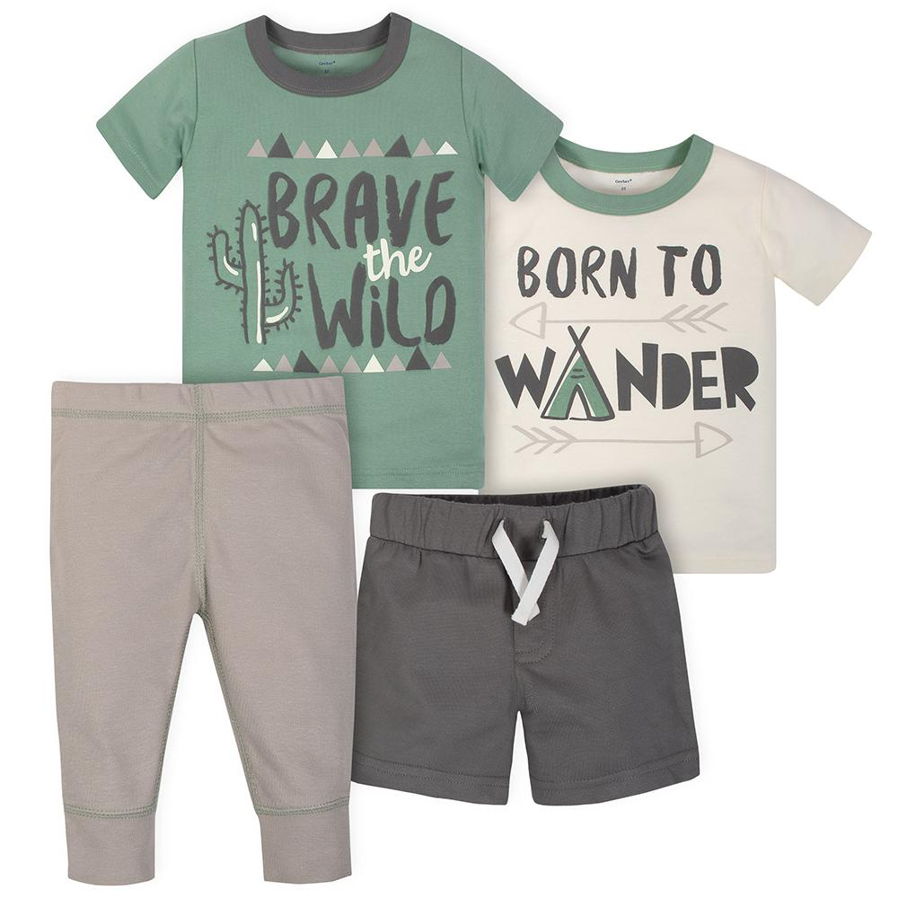 9bc8fe4b Toddler Boy Outfits - Cute Casual Outfit Sets | Gerber Childrenswear