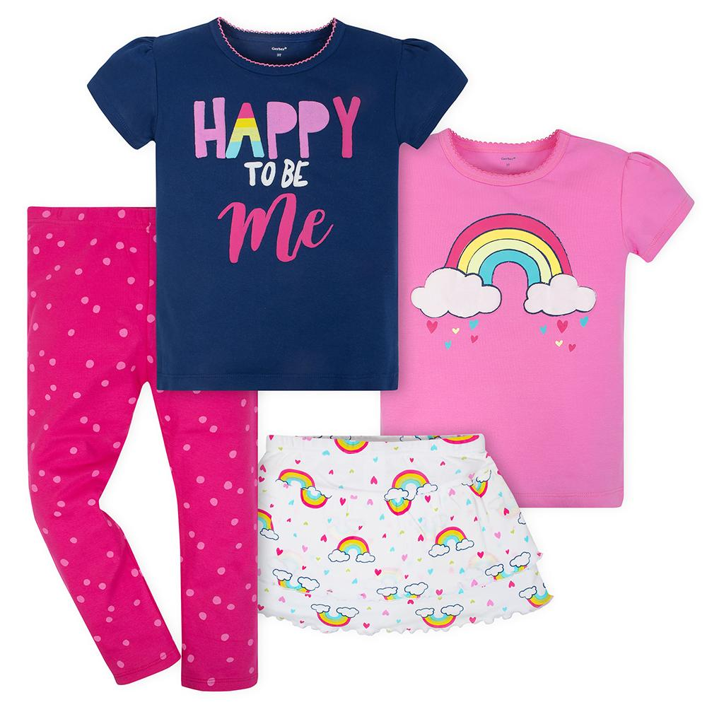 9965fe638 Toddler Girl New Arrivals - Cute & Cozy Outfits – Gerber Childrenswear