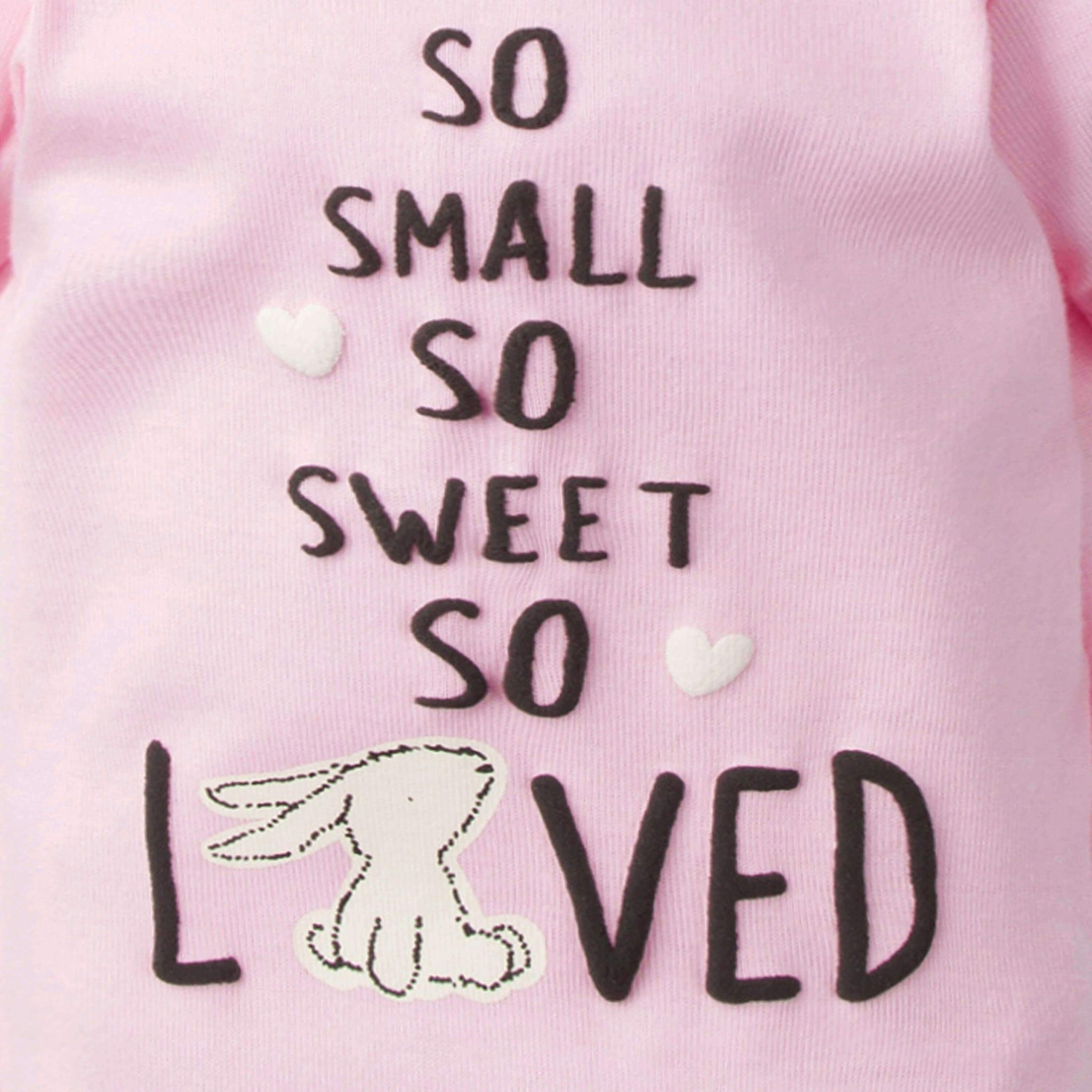 4-Piece Baby Girls Bunny Bundled Gift Set