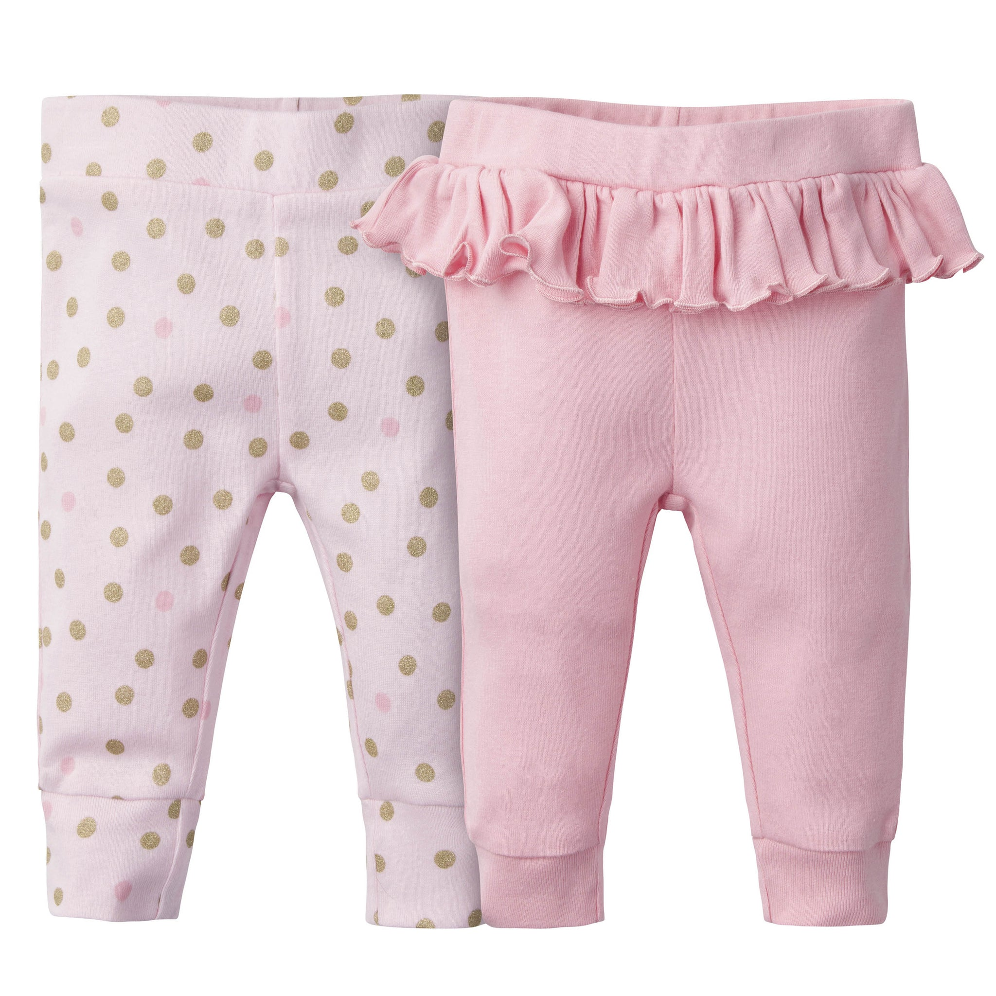 2-Pack Girls Princess Castle Active Pants