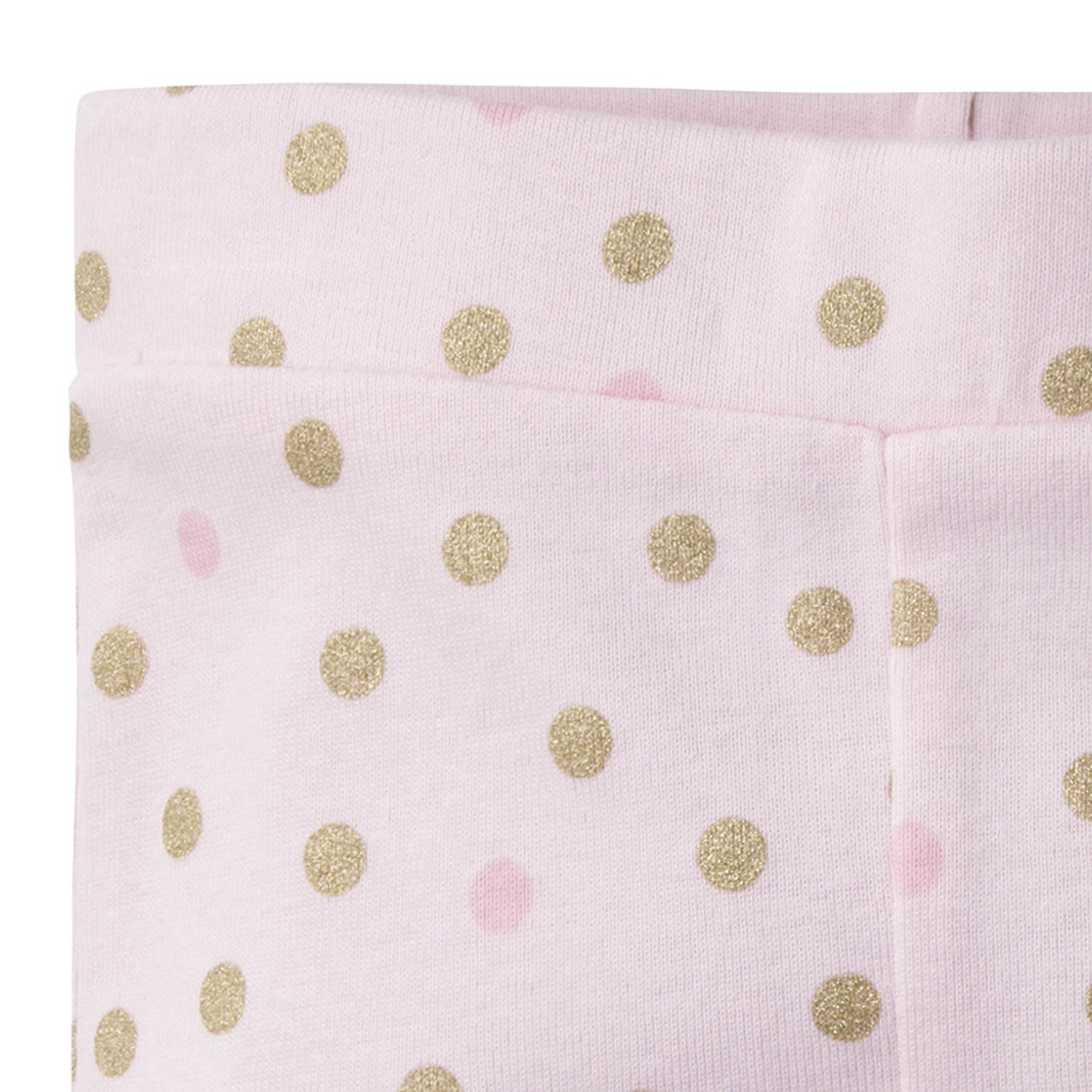 2-Pack Baby Girls Princess Castle Active Pants