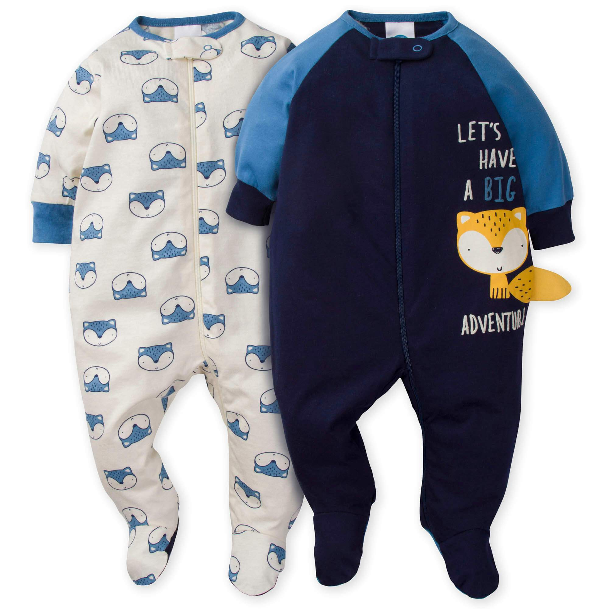 2-Pack Baby Boys Fox Sleep N' Plays