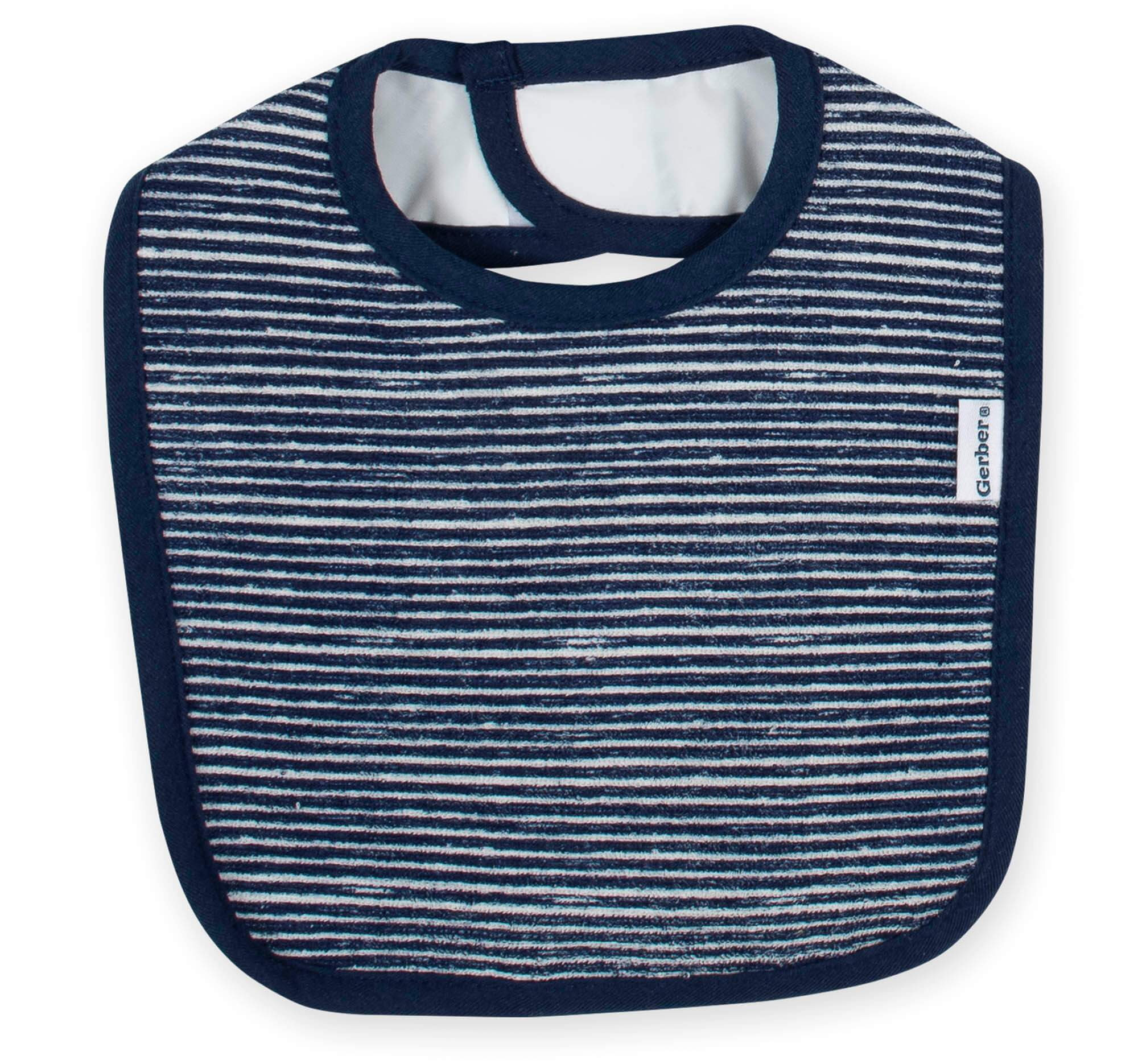 3-Pack Boys Fox Terry Bibs