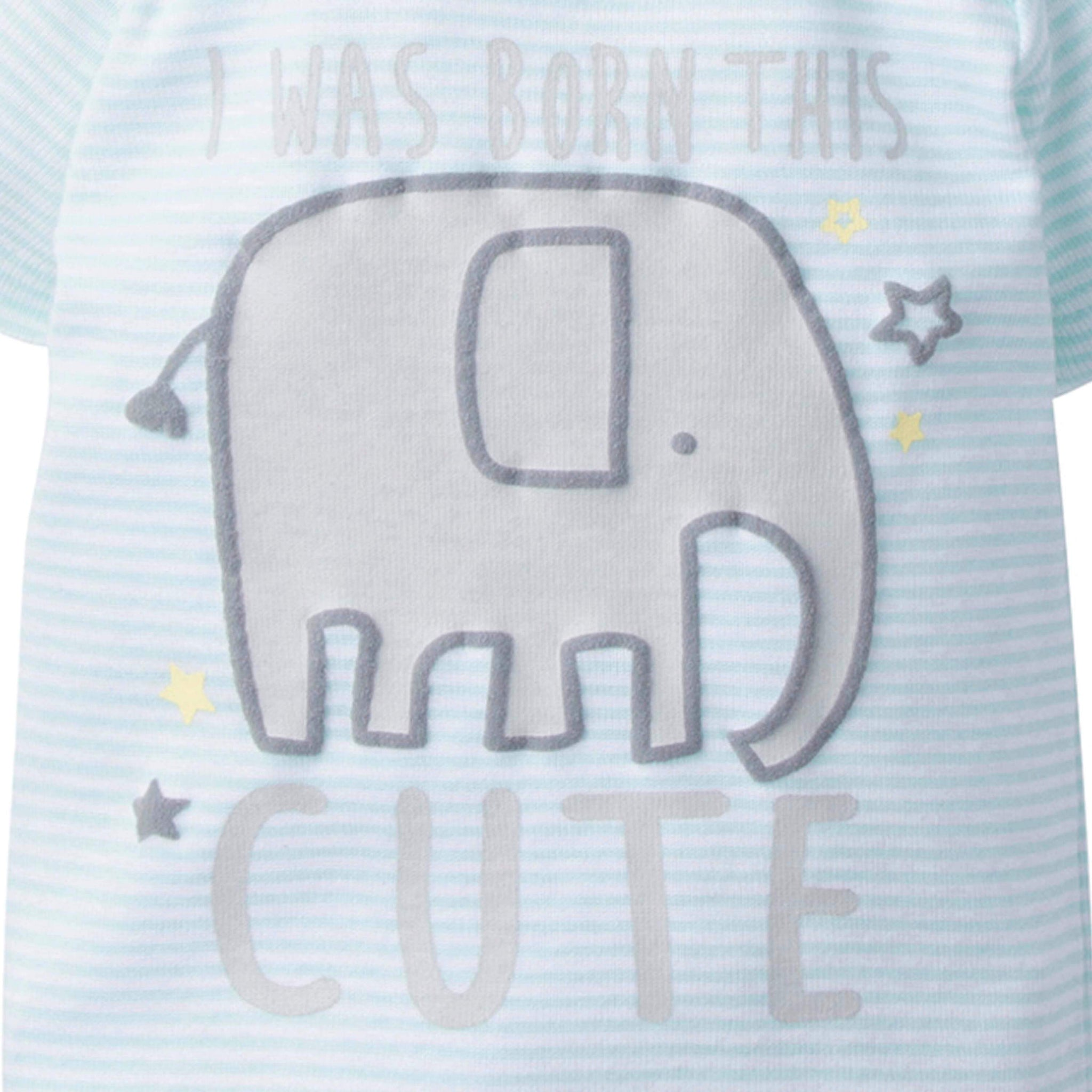 4-Piece Baby Neutral Elephant Bundled Gift Set