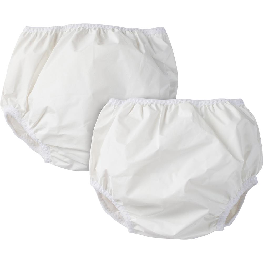 2-Pack White Waterproof Pants