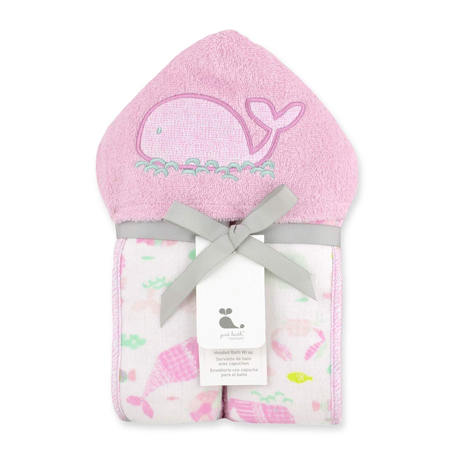 Just Born® Under Sea Hooded Towel
