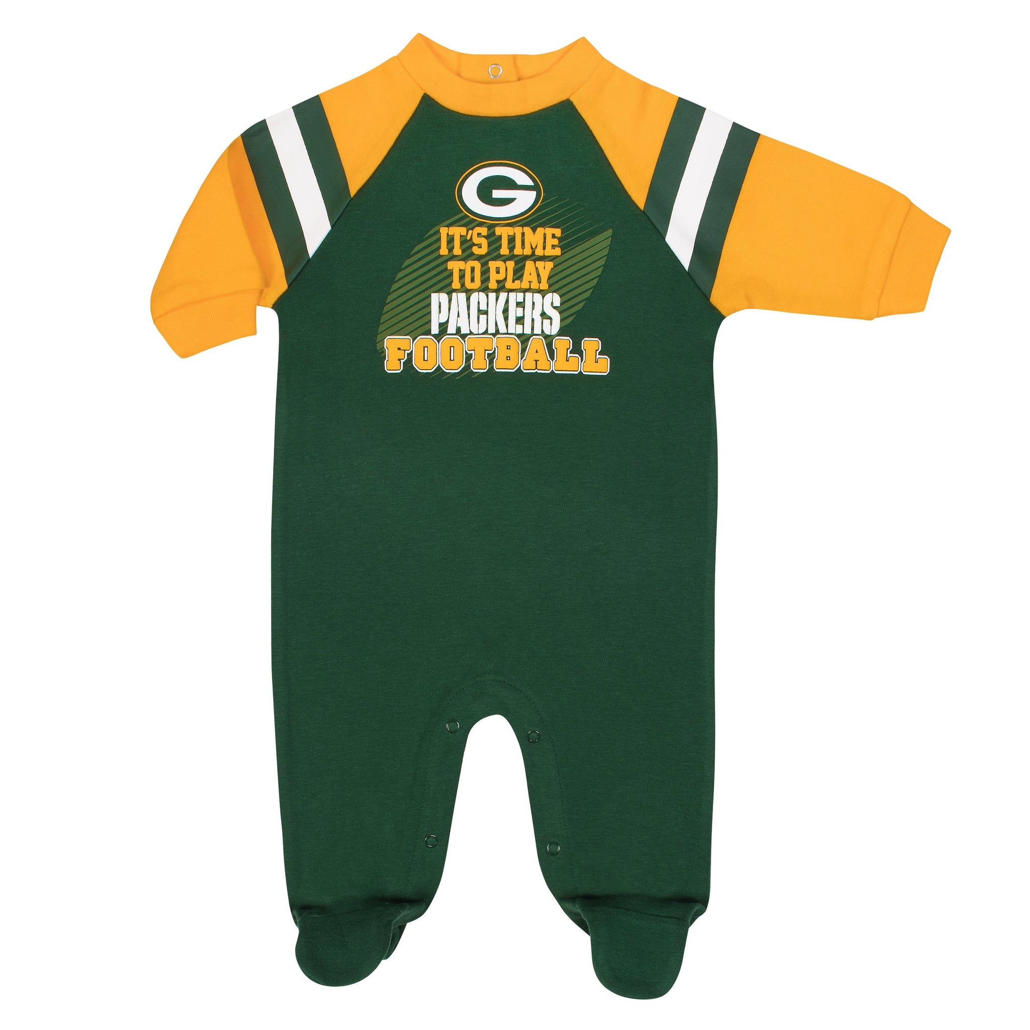 Green Bay Packers Baby Boy Sleep N' Play-Gerber Childrenswear