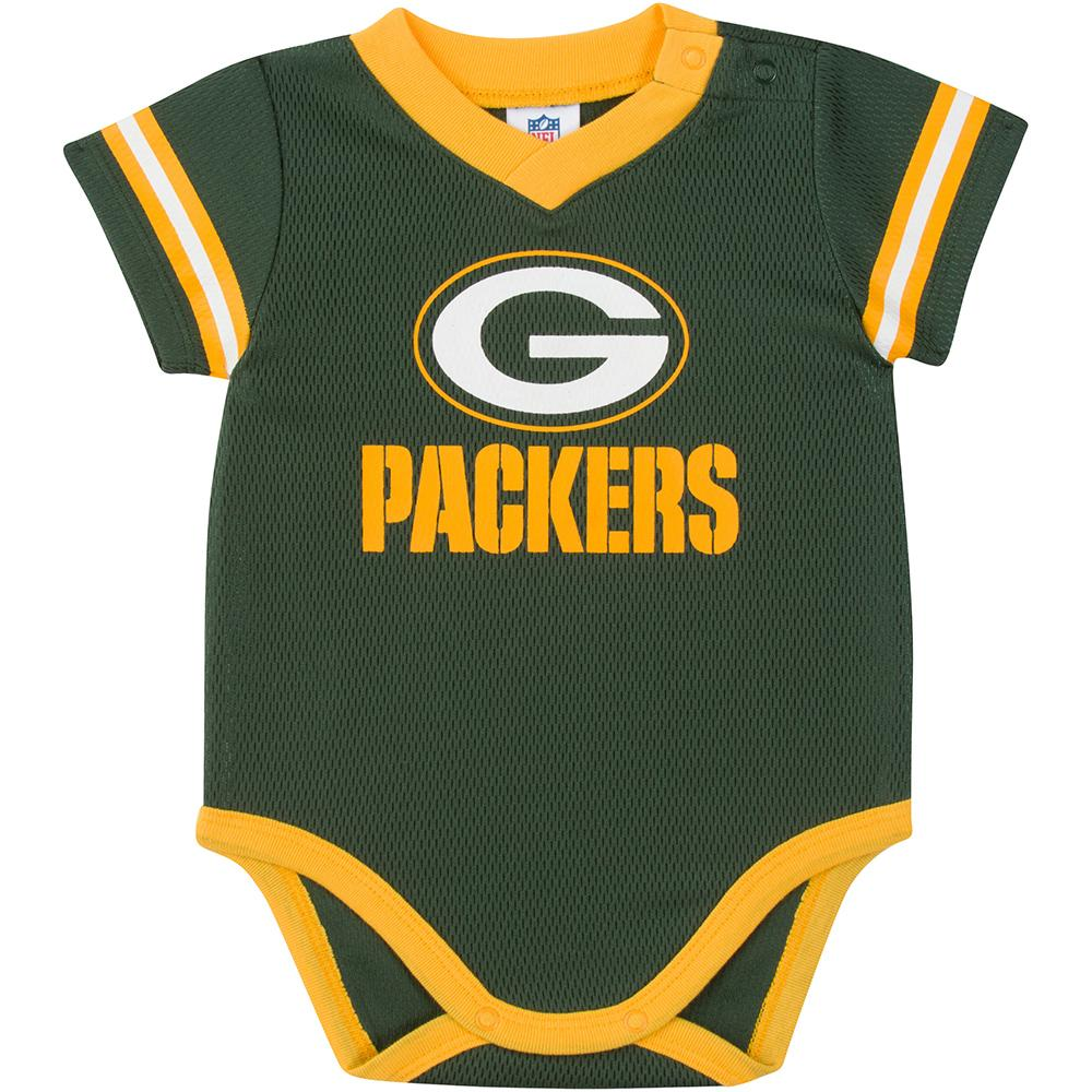 Packers Baby Boy Jersey Bodysuit