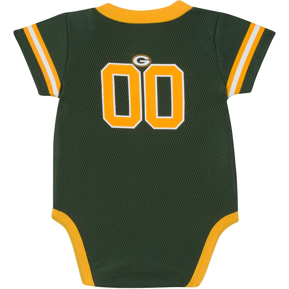 Packers Baby Boy Jersey Bodysuit-Gerber Childrenswear