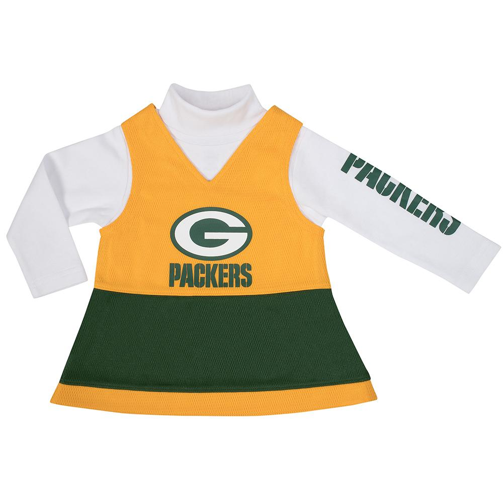 Packers Toddler Girls Jumper Set-Gerber Childrenswear