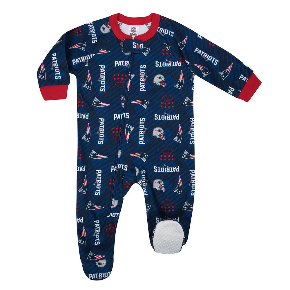 Patriots Baby Boy Blanket Sleeper - Gerber Childrenswear