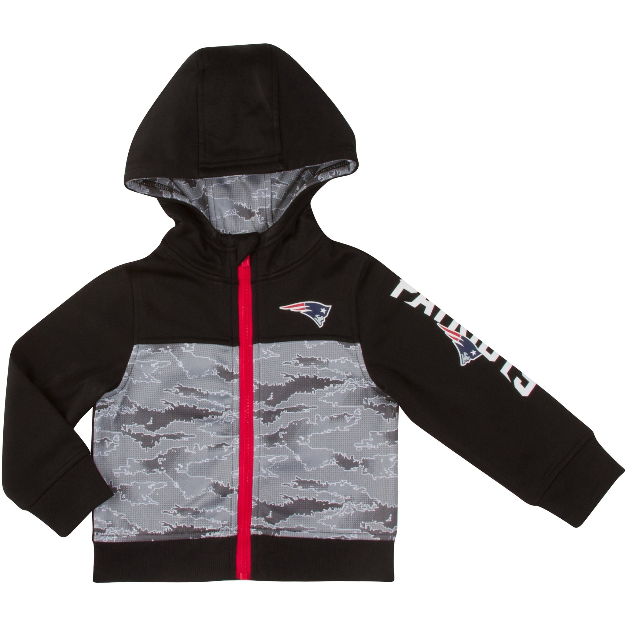 New England Patriots Boys Hooded Jacket-Gerber Childrenswear