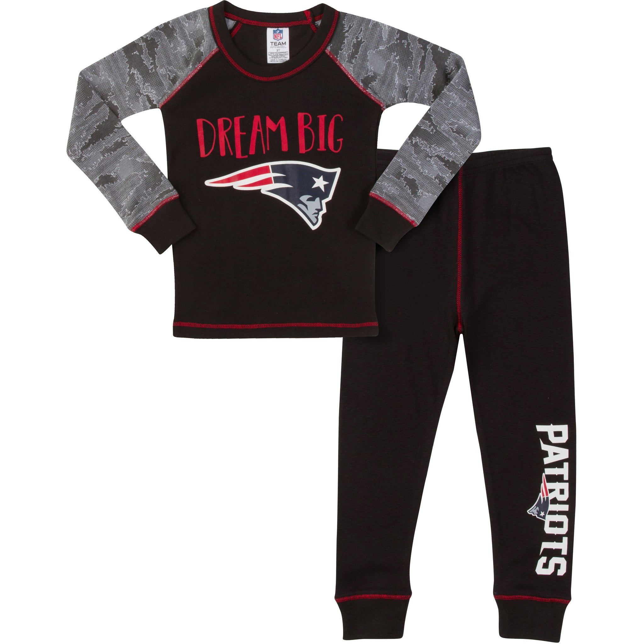 New England Patriots Boys PJ Set-Gerber Childrenswear