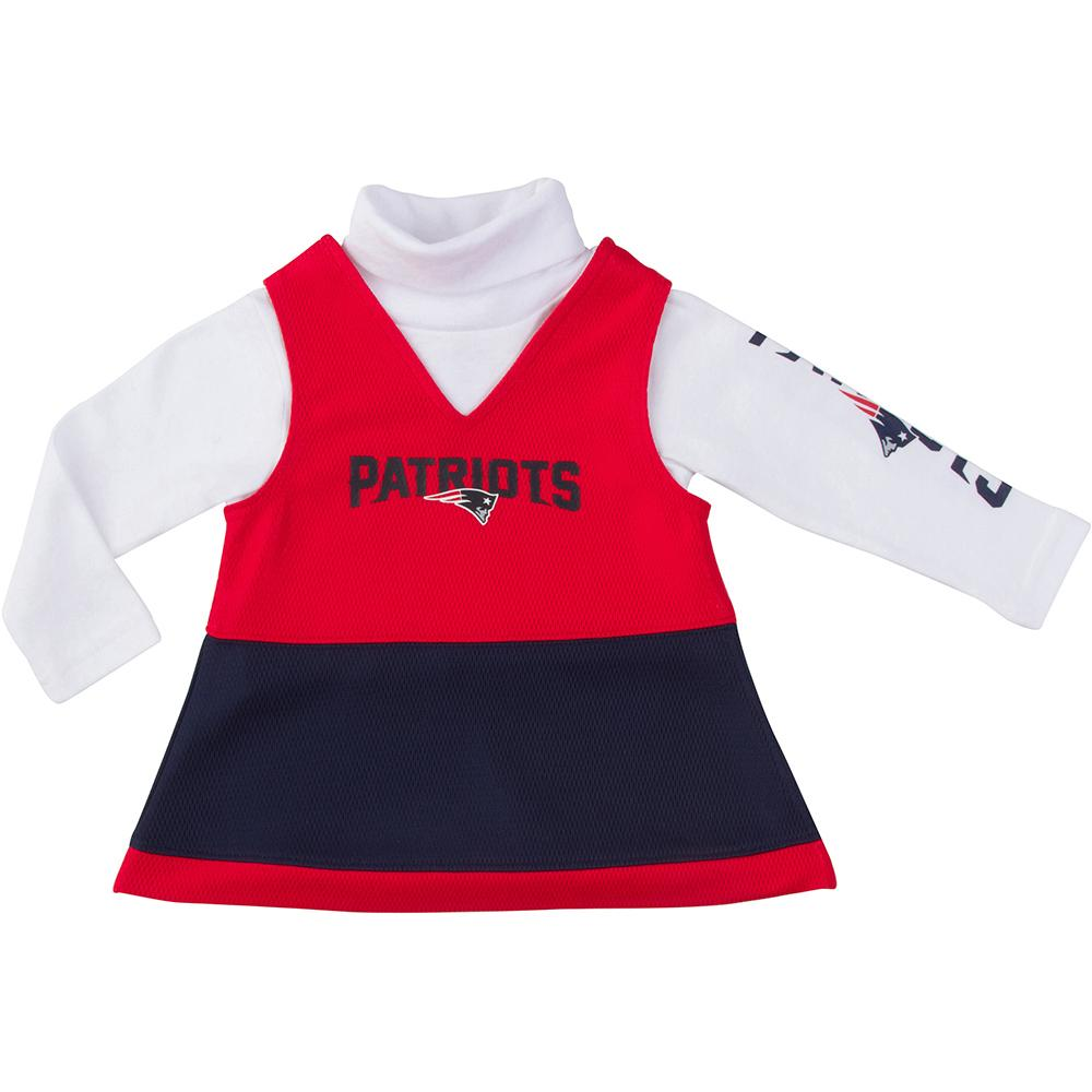 Patriots Girls Long Sleeve Jumper Set