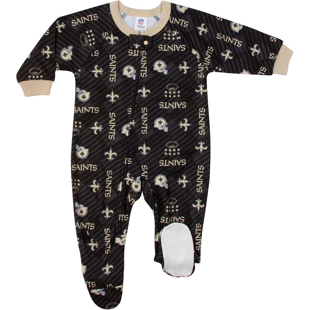 Saints Baby Boy Blanket Sleeper-Gerber Childrenswear