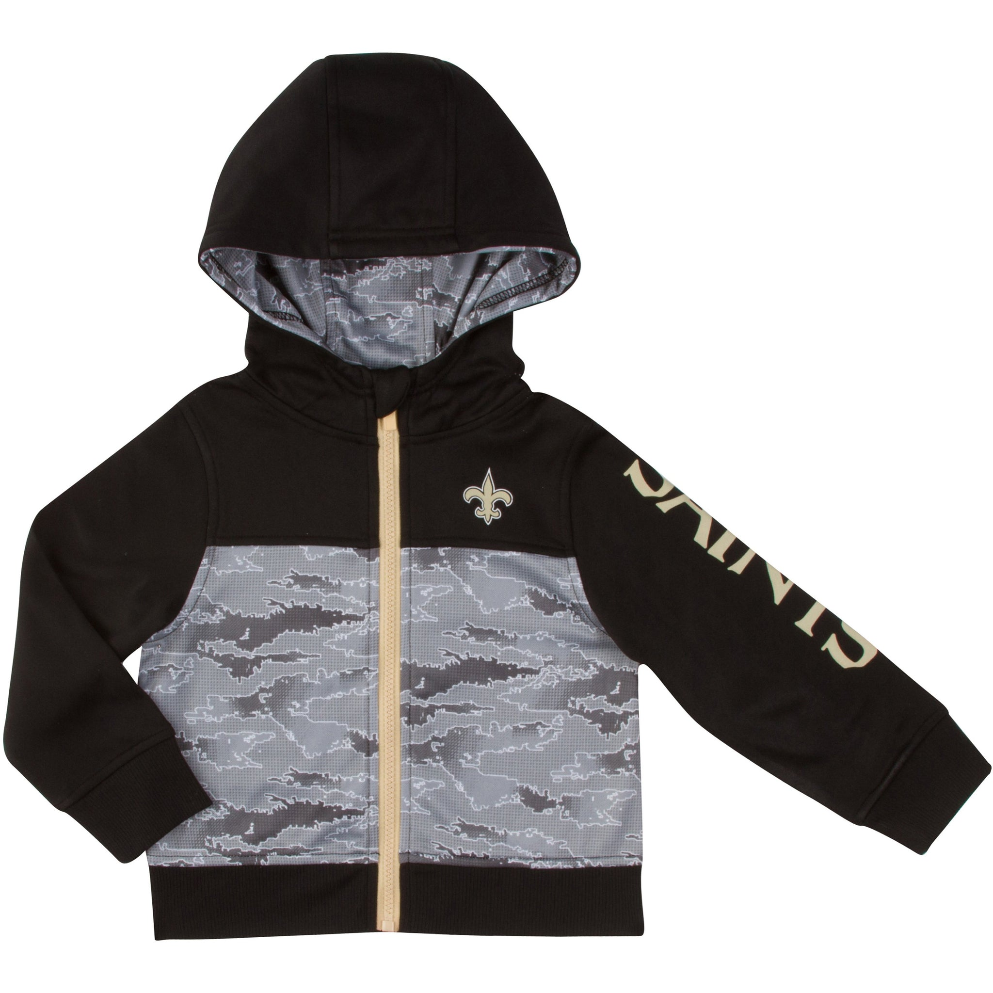 New Orleans Saints Boys Hooded Jacket-Gerber Childrenswear